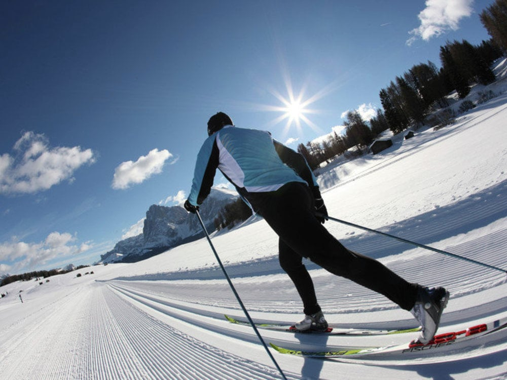 Paradise for cross country skiers