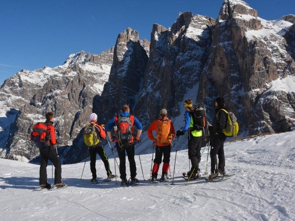 Traumhafter Firnschnee für Skitourengeher
