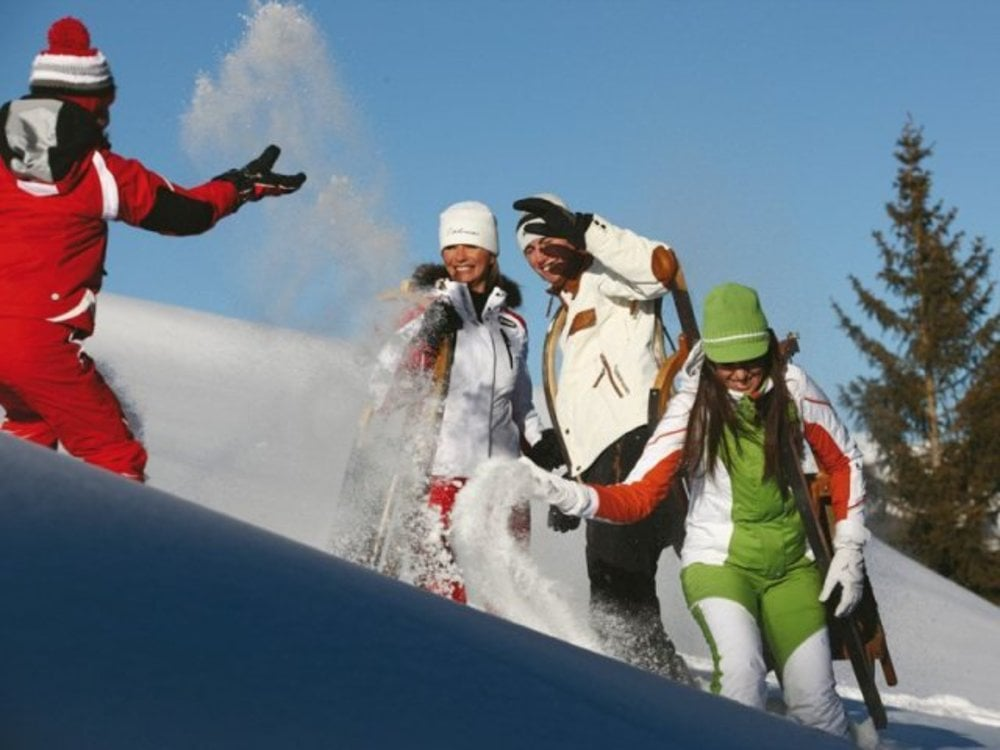 Family week on the snow