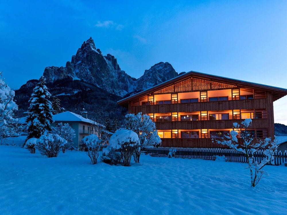 Winterluft: Atem der Dolomiten auf der Seiser Alm