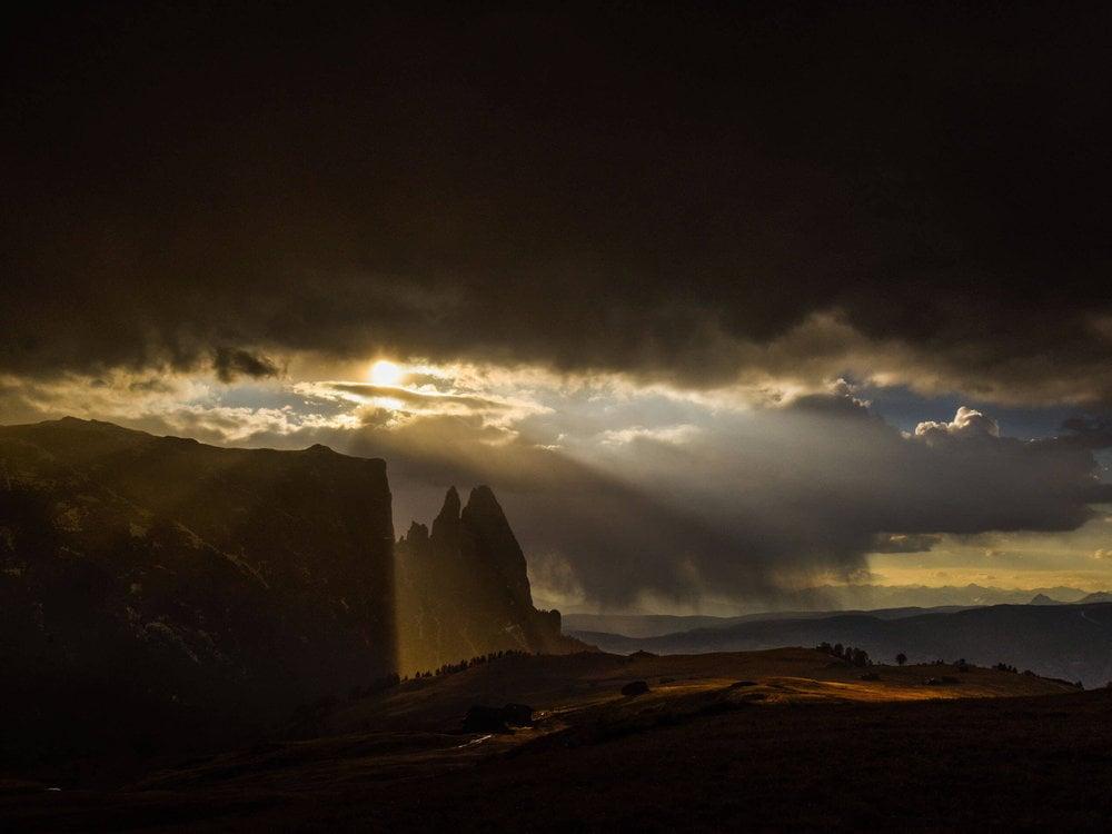 Lo Sciliar - montagna degli Dei