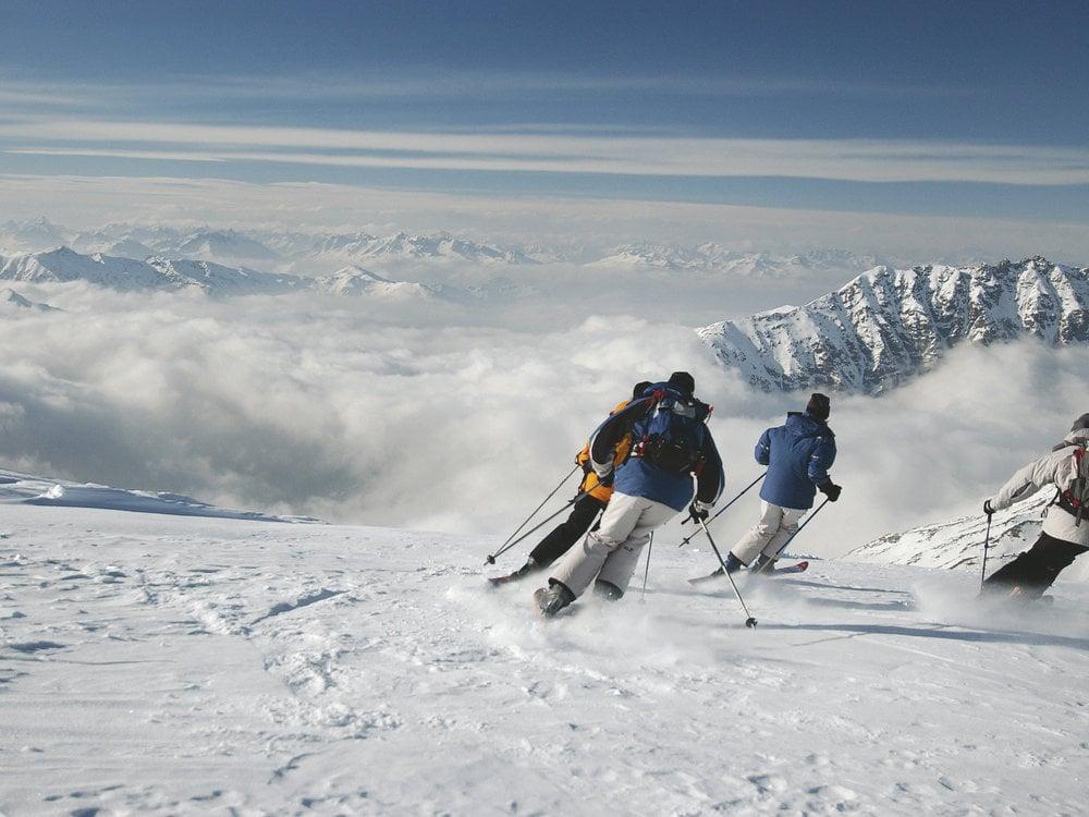 Sciare nelle Dolomiti
