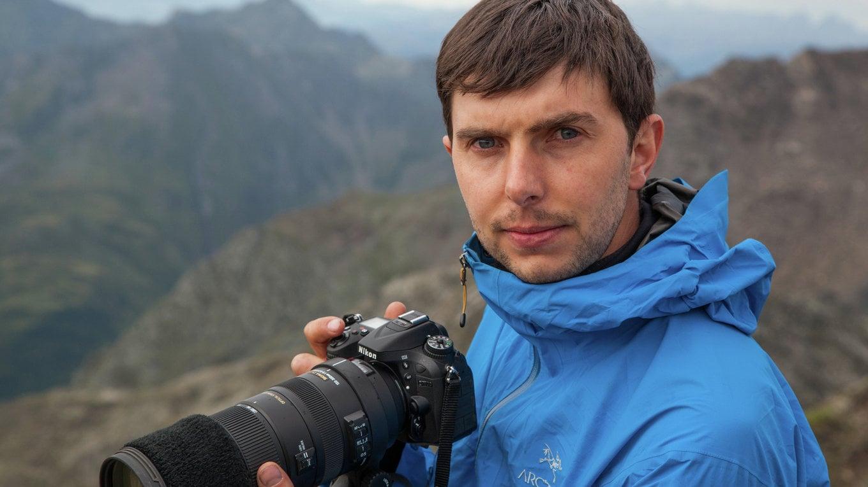 Naturfotografie-Workshop. Am Berg.