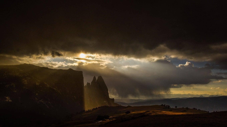 Mystic Mount Sciliar - mountain of Gods