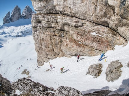 Nature & luxury - alpine skiing in th Dolomites