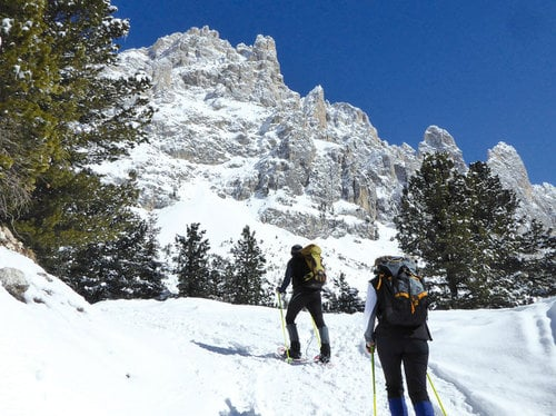 Snow-shoe mountaineers week 7=6