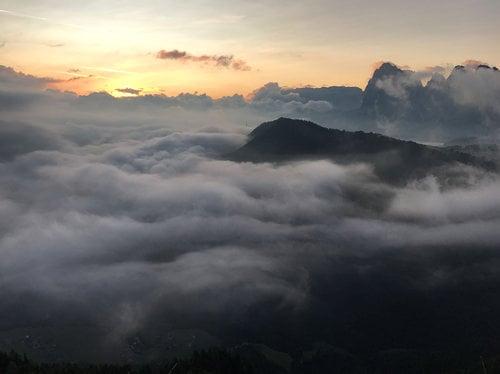 September in the Dolomites