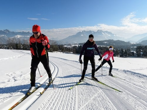 Pfösl's cross country skiing special