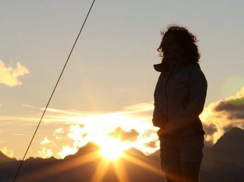 Sunrise hiking days