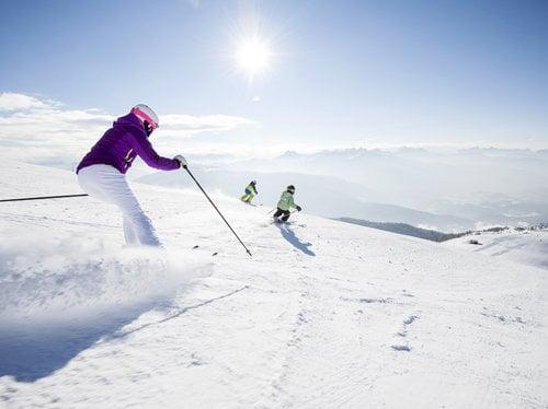 Sciare al sole