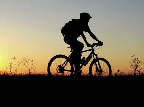 """Riding my bike"""