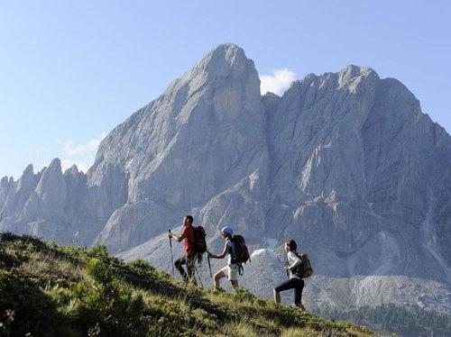 Summer resort of the Dolomites