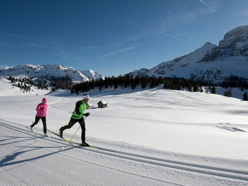 Dolomiti Nordic ski in the Dolomites
