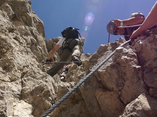 Klettersteigwoche im Rosengaten