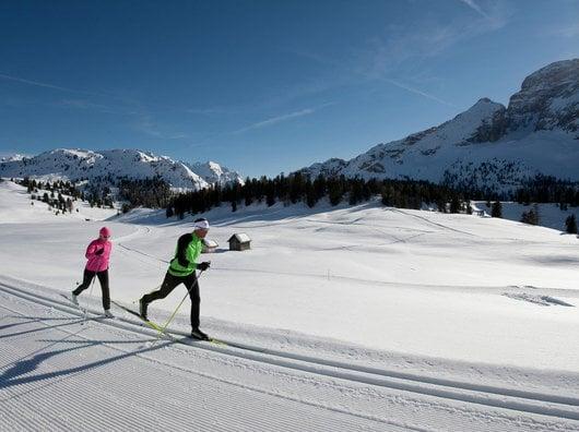 Dolomiti Nordic ski in the Dolomites