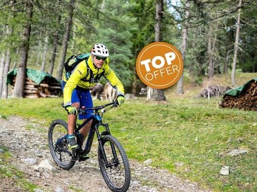 "Mountainbike Pacchetto ""Bike- Hattrick"" - 7 notti"