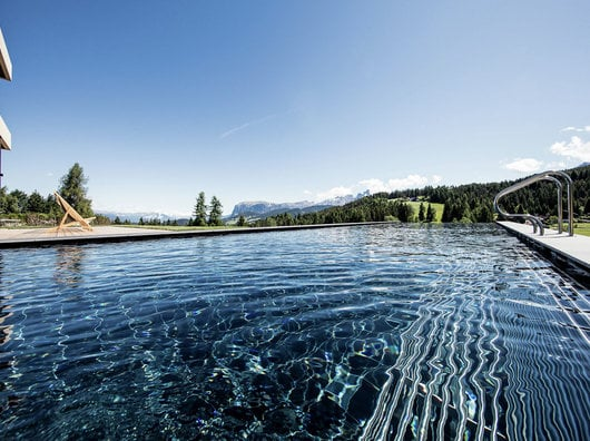 Wellness in the mountains