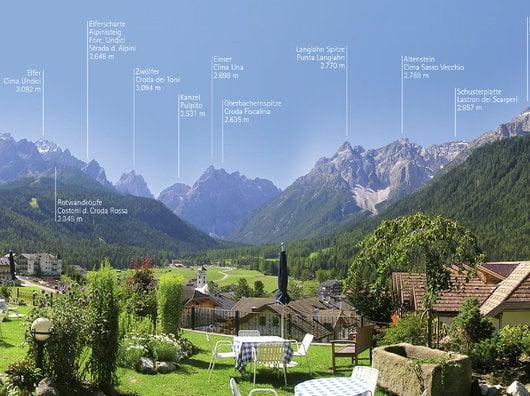 ERLEBNISWEGE DREI ZINNEN-DOLOMITES - Bergwandern Dolomiten