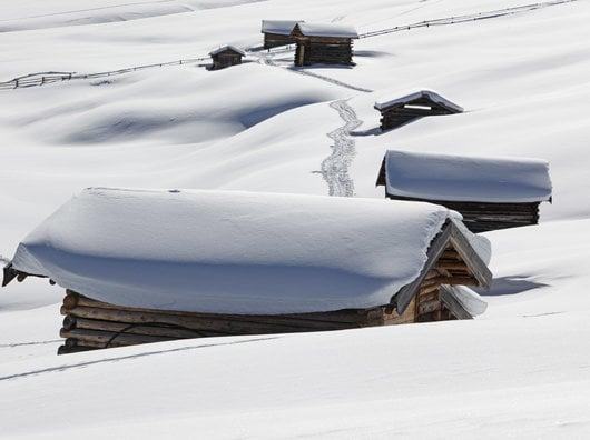 Winterzauber im Vinschgau