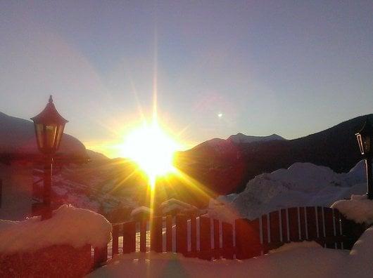 Winterbeginn im Ridnauntal