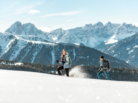 Snowwalking days at the Lüsnerhof