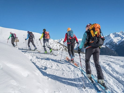 Skitouren Paradies in den Bergen