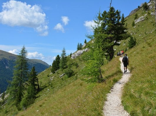 Ankommen, Glück empfinden - Naturerlebnisse in einer Berglandschaft