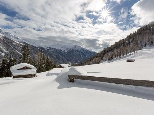 Erster Schnee im Advent